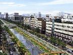 清渓川通り:復元後の俯瞰図