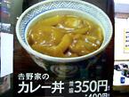 吉野家:カレー丼